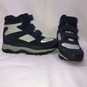 L.L. Bean Navy Gray Winter Boots Shoes Women's 8 M